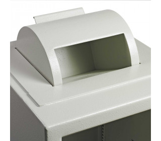 Dudley Europa £10,000 Rotary Deposit Security Safe Size 4 - rotary detail