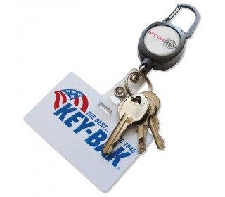 Keybak RSK Kevlar Cord Retractable ID Badge/Swipe Holder