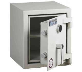 Dudley Harlech Lite S2 Fire Security Safe Size 00   - door ajar