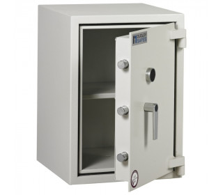 Dudley Harlech Lite S2 Fire Security Safe Size 2  - door ajar