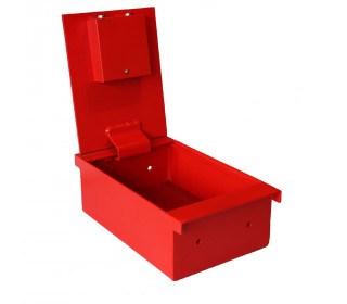 Securikey SDSTBEXPHZ Strongbox Extra Euro Lock Floorboard Safe  open