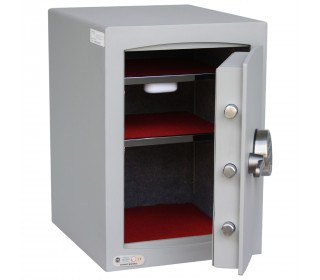 Securikey SFMV2ZE-S Mini Vault Silver Digital Security Safe door open