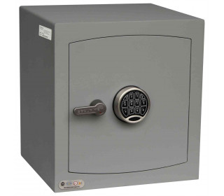 Securikey SFMV3FRZE-G Mini Vault Gold Digital Security Safe - Door closed