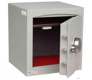 Digital Security Safe - Securikey Mini Vault Silver 3E - Door wide