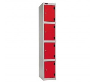 Probe Shockbox Laminate Inset 4 Door Locker 305x380
