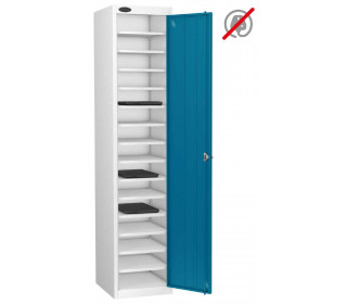 Probe Lapbox 15ST Laptop Storage Locker 15 Compartments - Blue