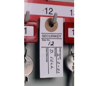 Key Cabinet Sign-Out Tabs x 250 - Securikey AKSOT0250