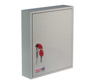 Securikey KC048 Wall Key Storage Cabinet with Key Locking for 48 Keys