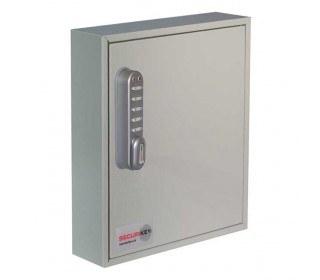 Securikey KC048ZECLIP54 Electronic Cam Locking Wall Key Cabinet for 48 Keys