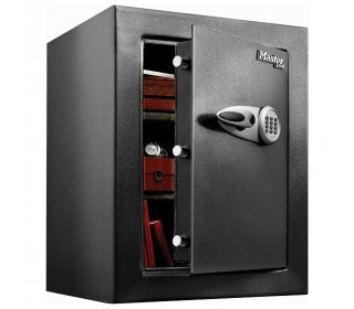 Master Lock T8-331 Digital Electronic Security Safe - door ajar