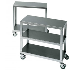 Bedford SMT1-2 Stainless Steel Mobile Trolley