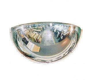 Plexiglass 1/2 Dome Convex Wall Safety Mirror - Vialux 100cm