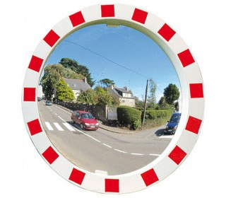Vialux Convex Wide Angle Traffic Mirror Polymir 600mm