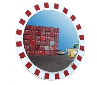 Vialux 846-SS Stainless Steel Traffic Mirror 600 Diameter