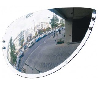 Wide Angle Driveway/Passageway Mirror - Vumax 6000 - 600mm horizontal