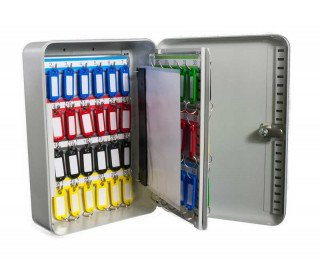 Safe Saver Key Systems Cabinet 58 hooks Combination Lock open