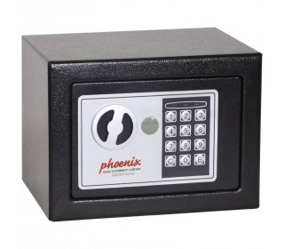 Phoenix SS0721E Compact Home Office Safe - door closed