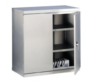 Bedford Low 2 Door Stainless Steel Cabinet 87984