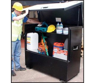 Sentribox 542 XLOCK X-Large Tool Vault - 1450mm wide lid open