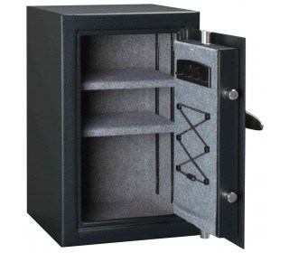 Master Lock T6-331 Digital Electronic Security Safe - door wide open