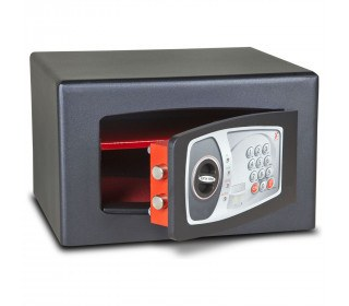 £4000 Cash Digital Security Safe - Burton Torino NMT/3P - door ajar