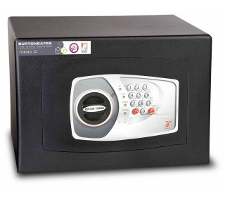 £4000 Cash Digital Security Safe - Burton Torino NMT/4P - door closed