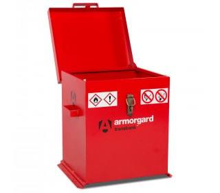 Armorgard Transbank TRB2 Portable Flammable Storage Chest - Open