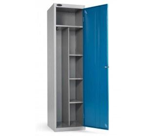 Probe Uniform Locker 1780x460x460mm blue door open