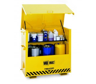 The Van Vault Chem Store - On-Site Chemical Storage Box