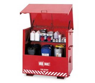 Van Vault Fire-Store Flammable Liquids Large Site Secure Storage Chest