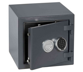Keysecure Victor Eurograde 1 Electronic Security Safe Size 2 - door ajar