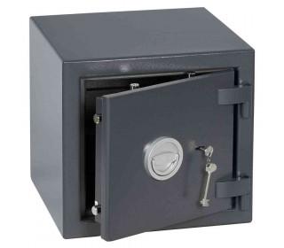 Keysecure Victor Eurograde 1 Key Lock Security Safe Size 2 - door ajar
