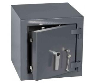 Keysecure Victor Small Eurograde 2 Key Lock Safe Size 1 - Door ajar