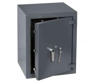 Keysecure Victor Eurograde 3 Key Locking Security Safe Size 3 - door  ajar