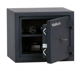 Chubbsafes Homesafe S2 10K Key Locking Fire Security Safe for Burglary and Fire protection - door ajar