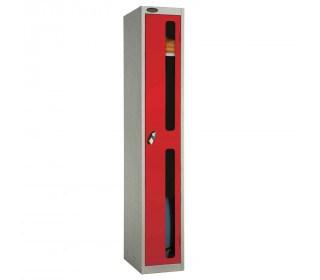 Probe 1 Door Anti-Stock Theft Vision Window Steel Locker