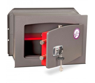 Burton Torino Premium quality Wall Safe DK Size 4 Key Lock - door ajar