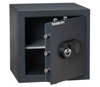 Chubbsafes Zeta 40E Eurograde 0 Digital Security Safe door ajar