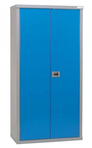 Heavy Duty Welded Steel Cabinet 180x90x45 - Bedford 80894  - closed