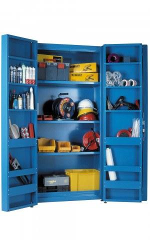 Heavy Duty Steel Welded Cabinet 200x100x60cm - Bedford Morstor 82215MS