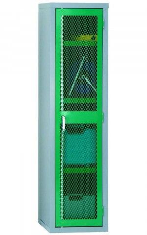 Wire Mesh 1 Door Welded Steel Cabinet 183x46x46 - Bedford 88MD844