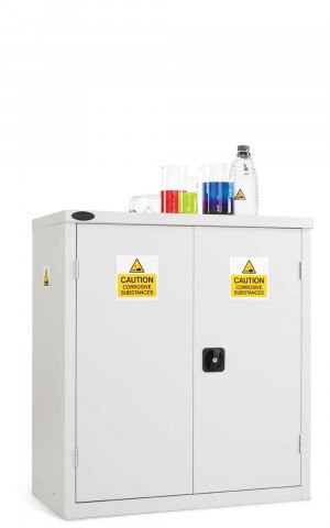 Probe Acid Corrosive Low Double Door Steel Cabinet