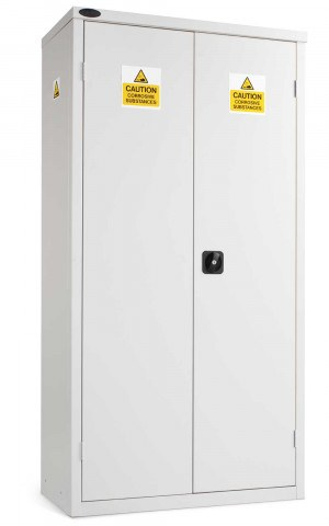 Probe Acid Corrosive High Double Door Steel Cabinet