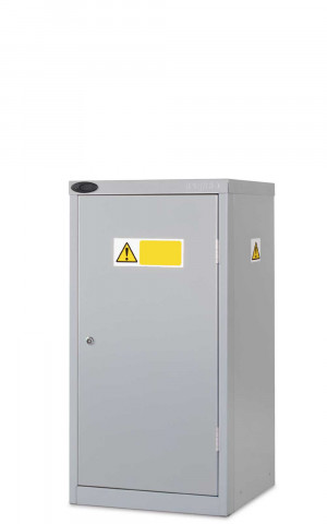 Probe COSHH Small Steel Cabinet with Dished Top Closed