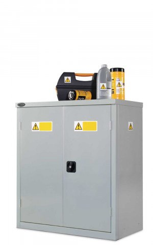 Probe COSHH Low Double Door Steel Cabinet