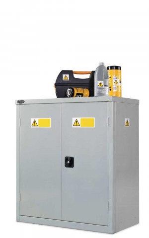 Probe COSHH Low Double Door Steel Cabinet