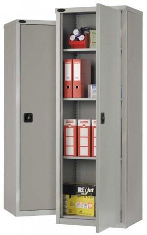 Probe SLC702418 Industrial Slim Steel Cabinet 610x460 - All Silver Grey