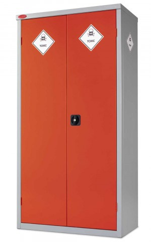 Probe Toxic COSHH High Double Door Steel Cabinet