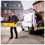 Van Vault Mobi - Vehicle Storage Box - Security Tested - in use