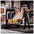 Van Vault Slider Tested and Certified Security Drawer Locking Van Box - in use
